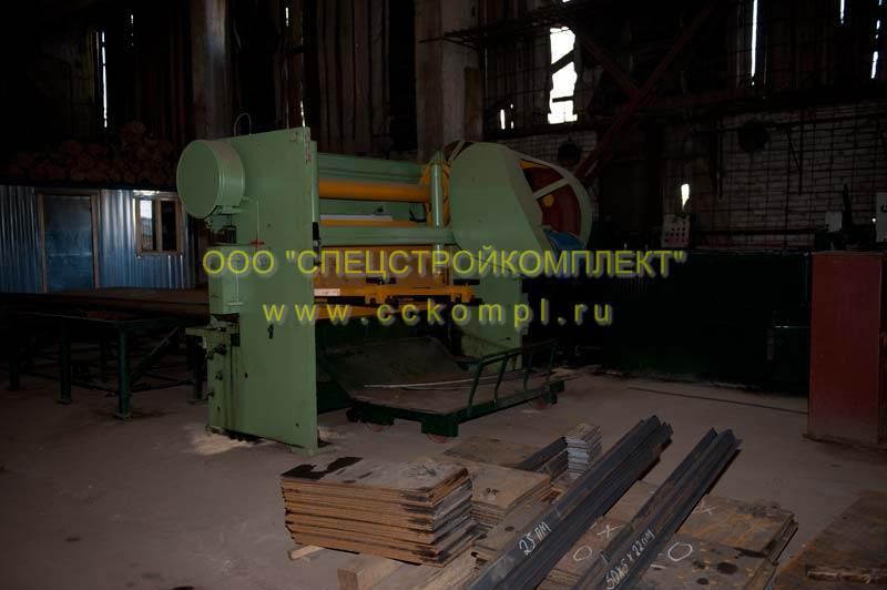 Резка металла механическая